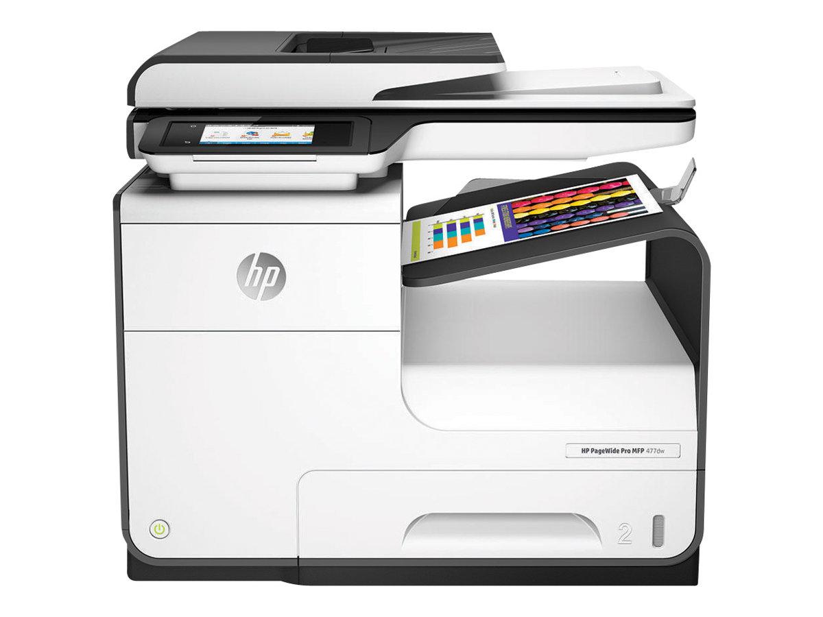 HP PageWide Pro 477dw - imprimante multifonctions jet d'encre couleur A4 - Wifi, USB, NFC - recto-verso