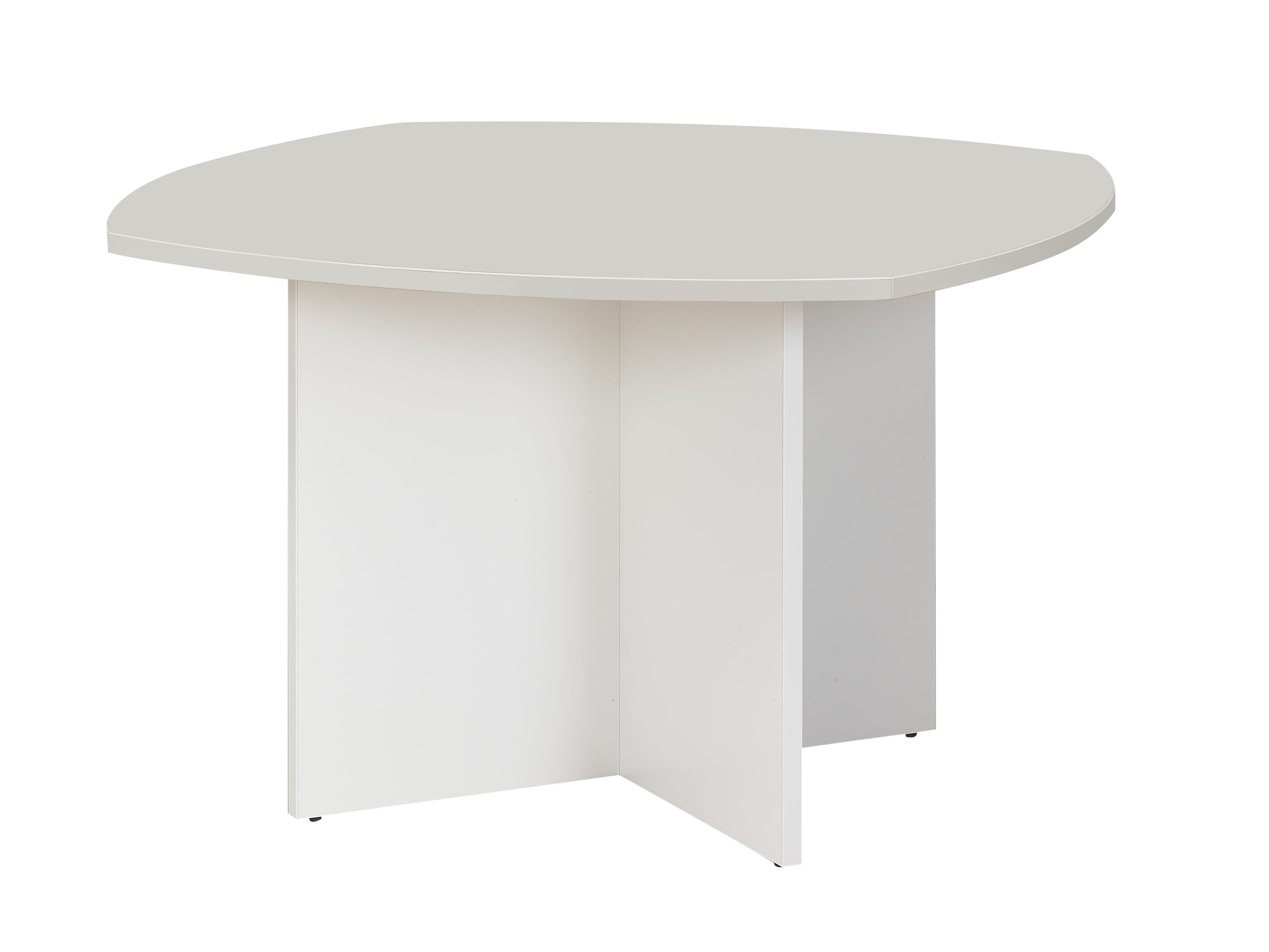 Table rectangulaire avec cotés arrondis Sunday