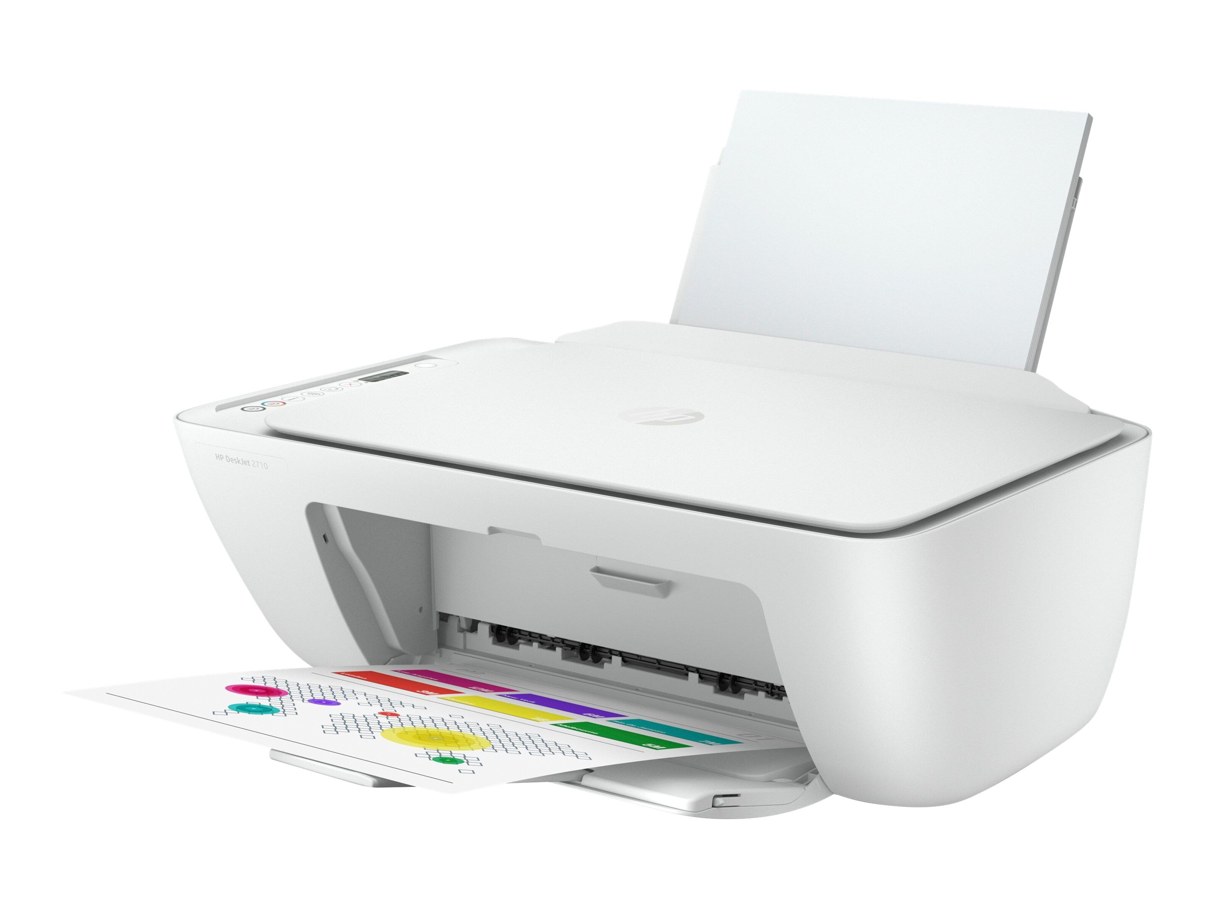 HP Deskjet 2710 All-in-One - imprimante multifonctions jet d'encre couleur A4 - Wifi, Bluetooth, USB