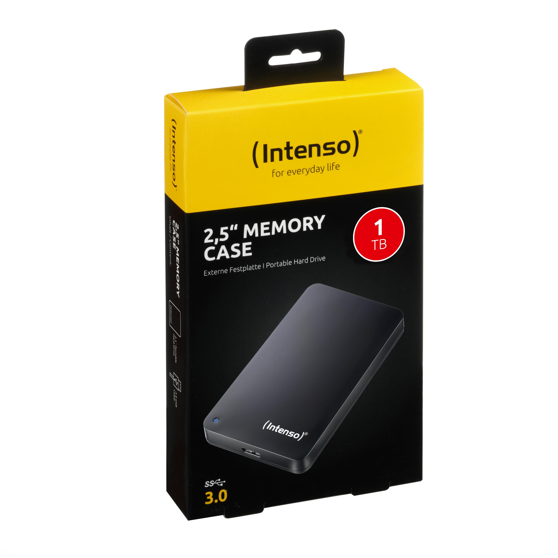 Intenso - disque dur 1 To - USB 3.0 - noir