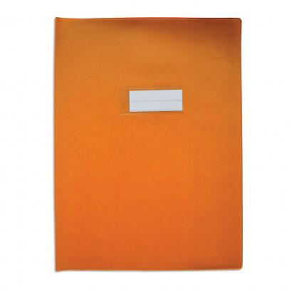 Oxford - Protège cahier sans rabat - 24 x 32 cm - grain agneau - orange