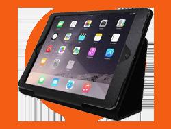 iPad avec coque
